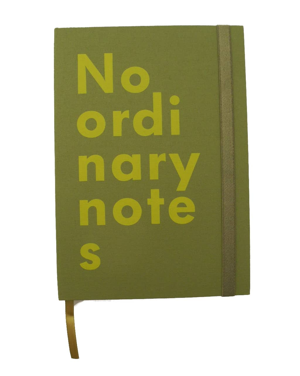"Notitieboek ""No ordinary notes"", groen - NAVA"
