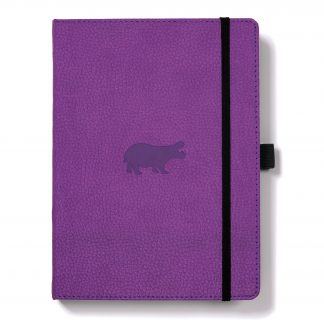 Dingbats Wildlife Purple Hippo